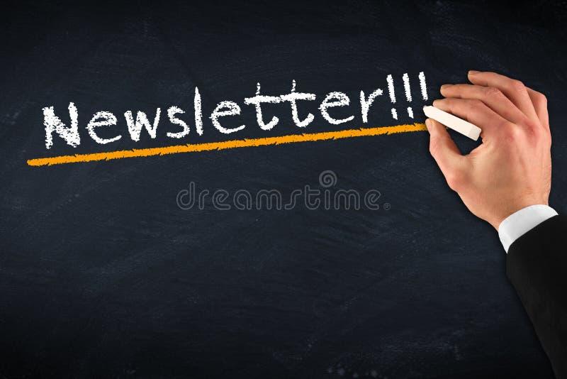 Download Newsletter stock photo. Image of black, lesson, billboard - 36924538