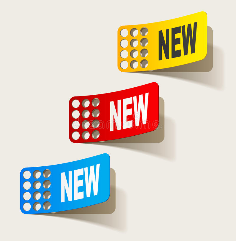 Download Newsletter, Realistic Design Elements Royalty Free Stock Photography - Image: 25939867