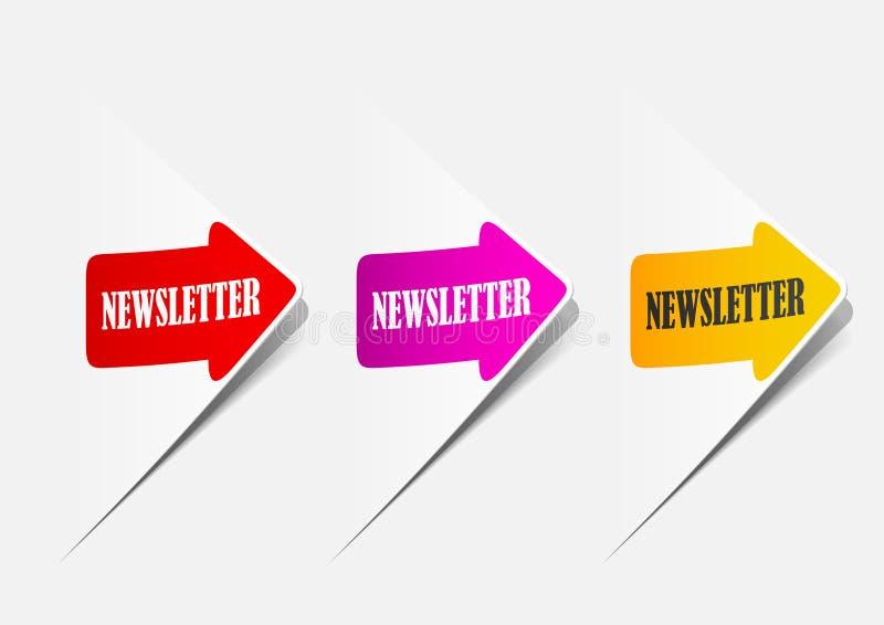 Newsletter, realistische Auslegungselemente