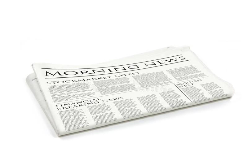 Download Newspaper Royalty Free Stock Photos - Image: 10863678