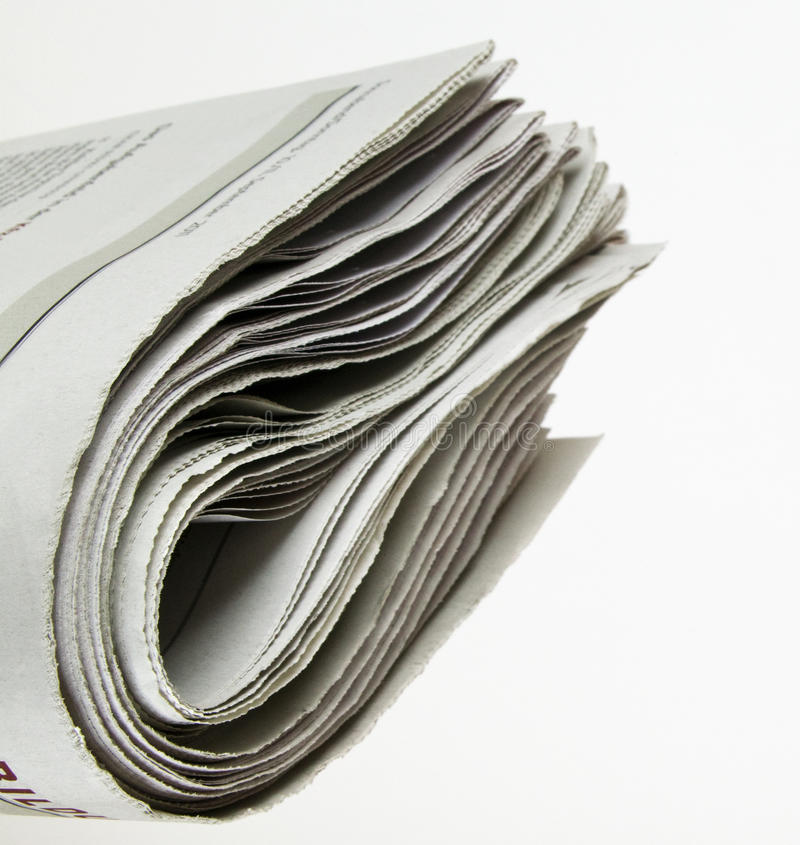 Newspaper. Pile of newspaper with copy space for your massage stock photos