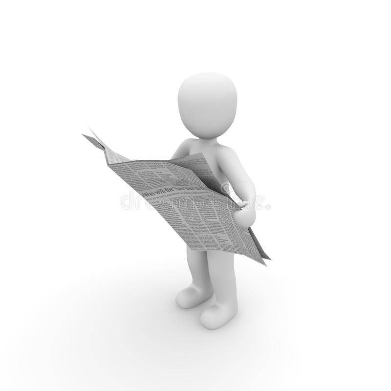 Free Newspaper Royalty Free Stock Photography - 31580727