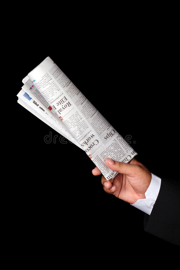 Newspaper royalty free stock photo