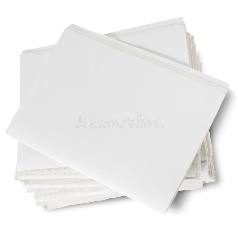 Download Newspaper stock photo. Image of media, blank, newsprint - 6704774