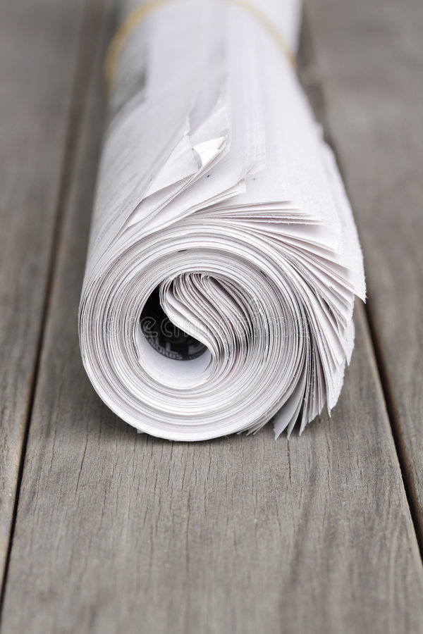 Newspaper. royalty free stock images