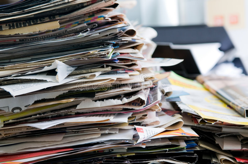 Download Newspaper Stock Photography - Image: 8621082