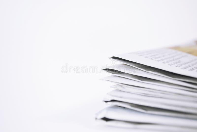 Newspaper copy royalty free stock photo