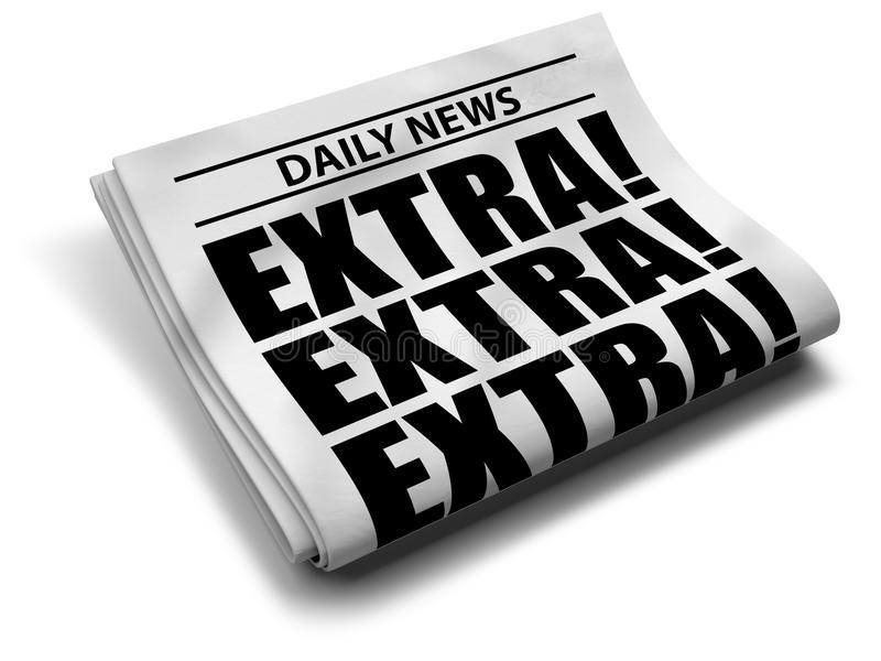 Download Newspaper Front Page Royalty Free Stock Image - Image: 19021486