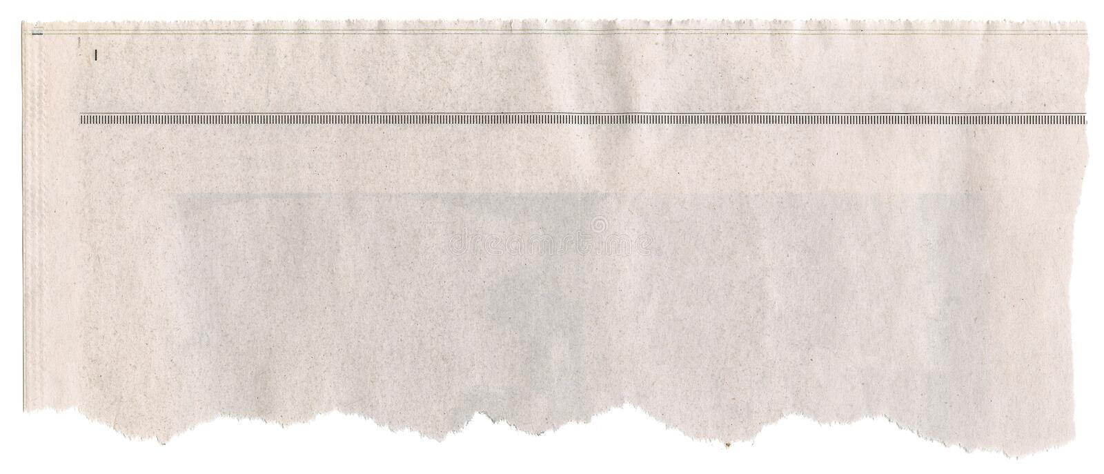 Download Newspaper Headline stock image. Image of message, crumpled - 5738785