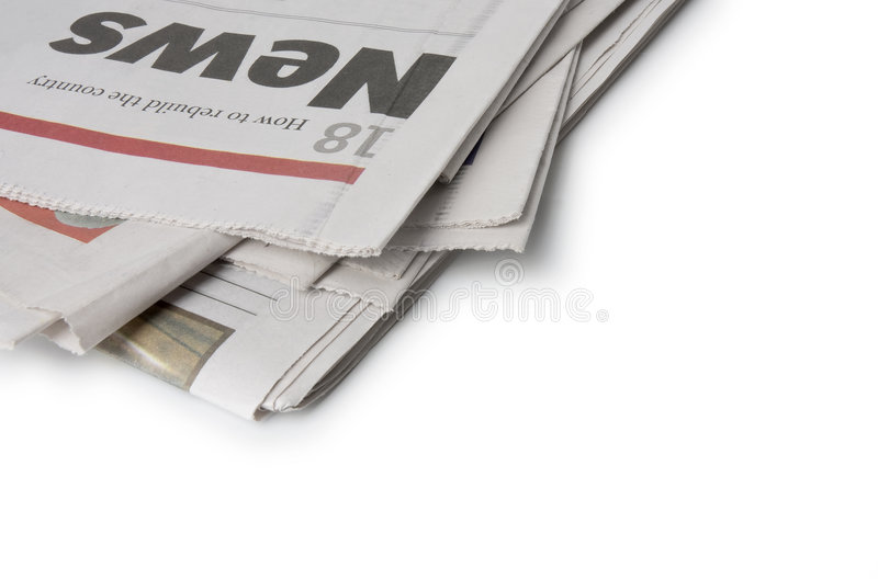 Download Newspaper - The news stock image. Image of news, journalist - 4812767