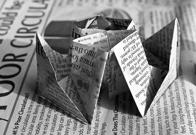 Newspaper Origami Free Public Domain Cc0 Image