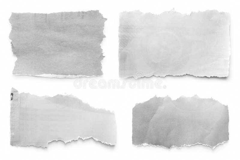 Download Newspaper Tears stock image. Image of white, shadow, group - 6530163