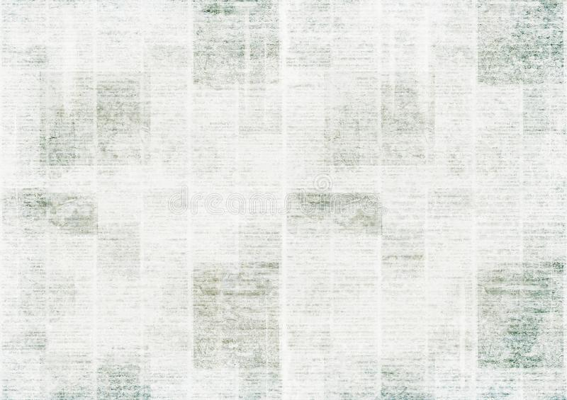 Newspaper vintage grunge collage background royalty free stock photography