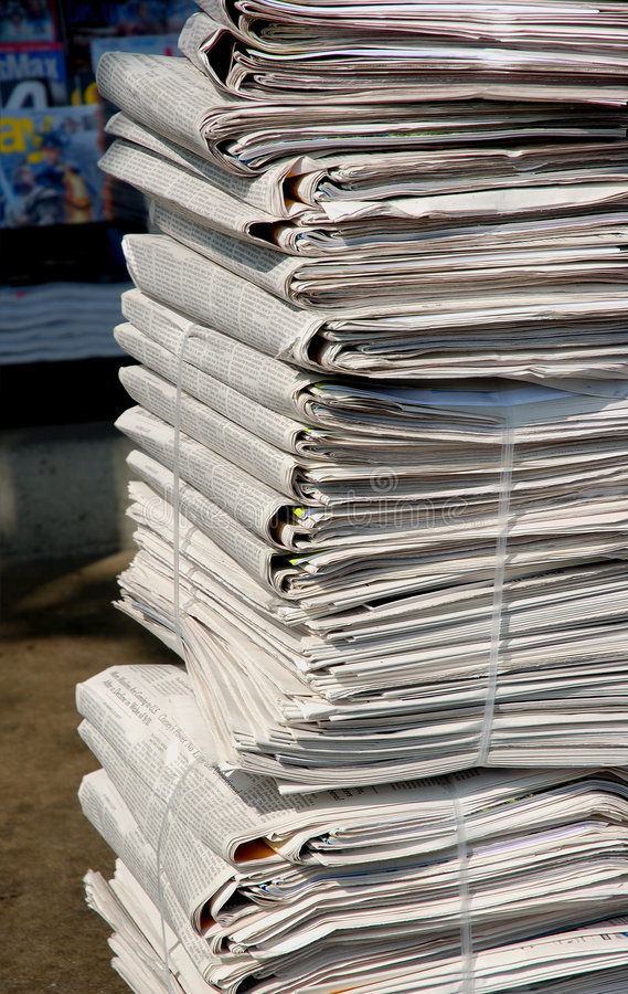 Free Newspapers Royalty Free Stock Images - 1253379