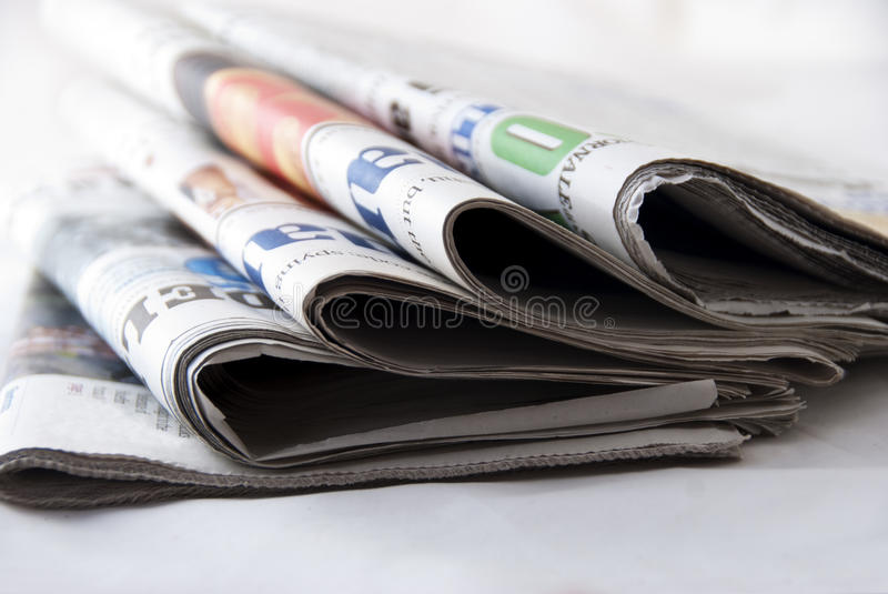 Download Newspapers stock photo. Image of article, chronicle, section - 17379508