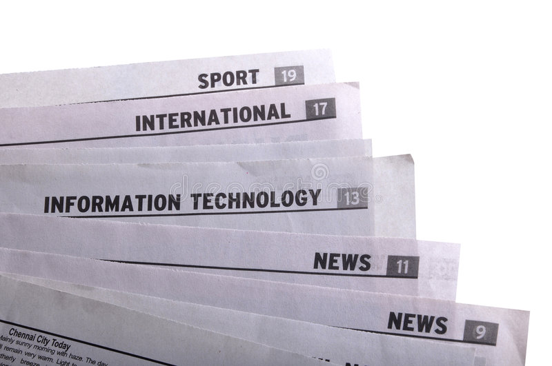 Download Newspapers Stock Photo - Image: 9289010