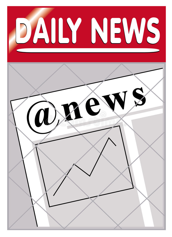 Download Newspapers @ E-news News Royalty Free Stock Image - Image: 1260046