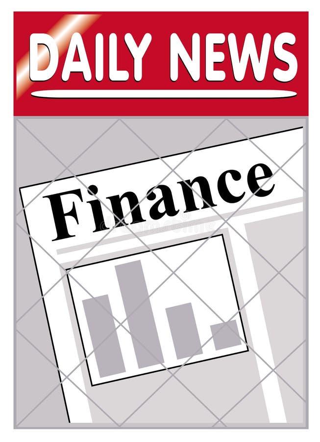 Newspapers Finance Stock Photo