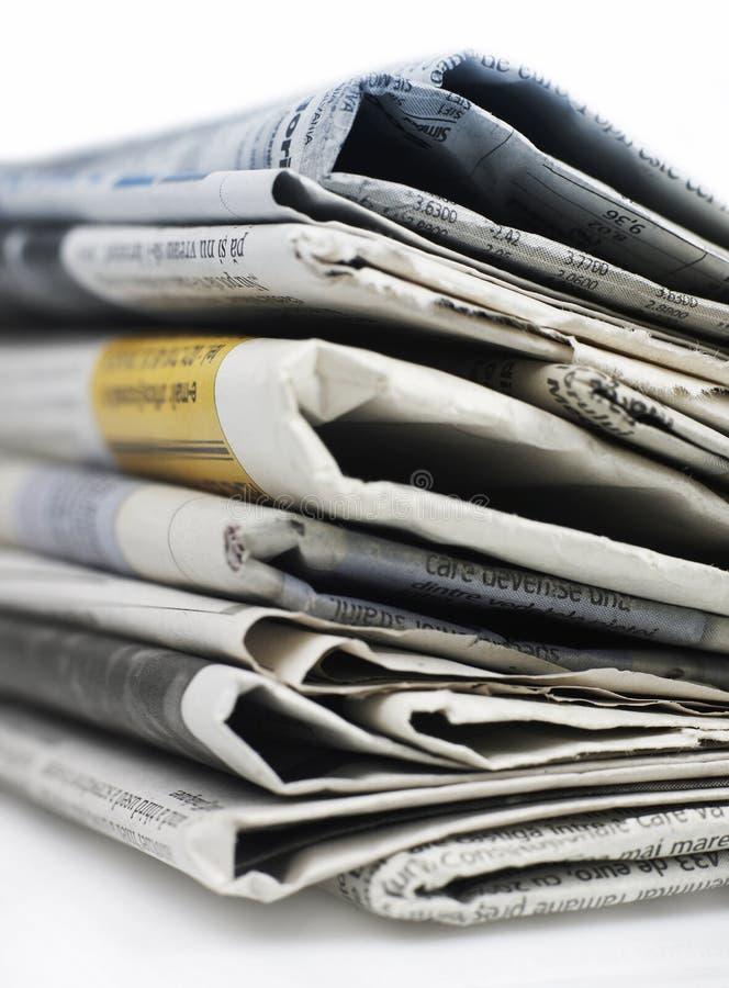 newspapers series стоковое изображение rf