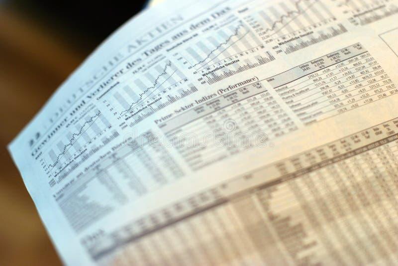 Newsppaper Notfall lizenzfreies stockfoto