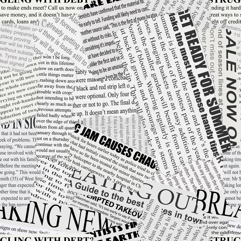Free Newsprint Background Stock Photography - 27233762