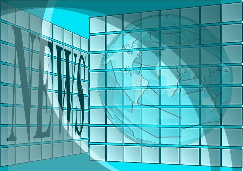 newsroom vector illustratie