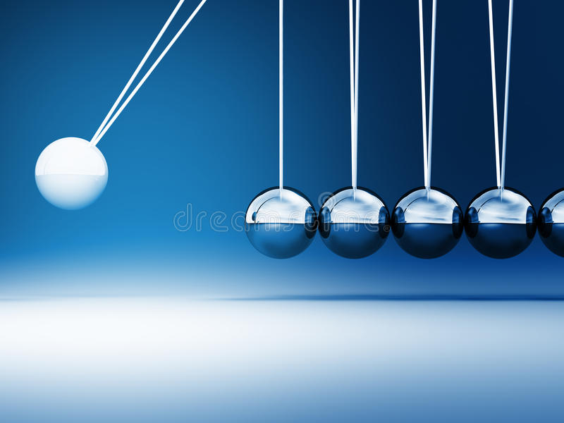 Download Newton cradle stock image. Image of objects, creativity - 17053269