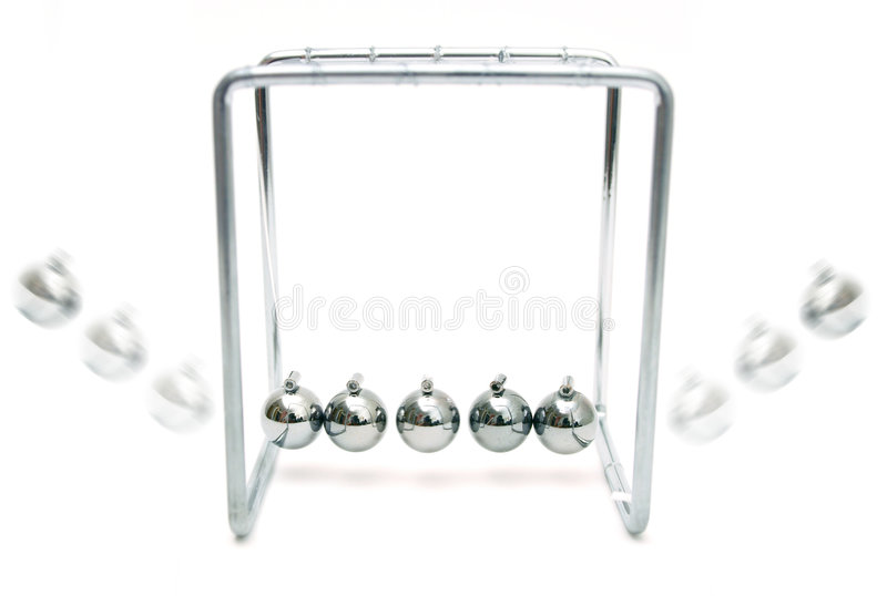 Newton's Cradle stock image