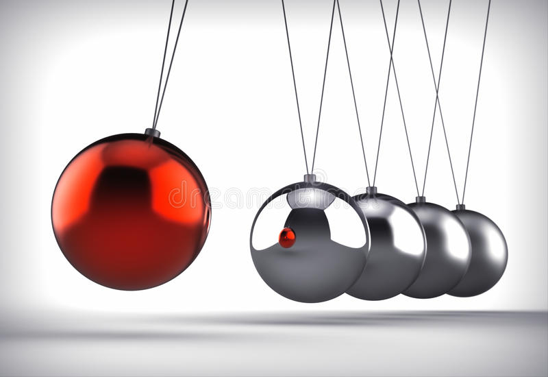 Download Newton's Cradle Royalty Free Stock Photography - Image: 24438367