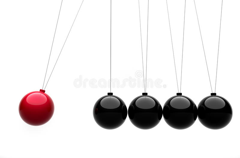 Download Newton's Cradle Concept Royalty Free Stock Photo - Image: 16697345