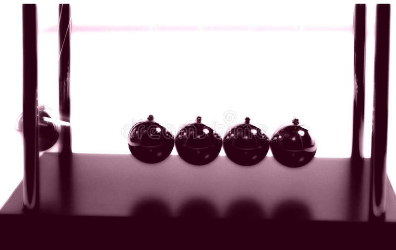 Download Newtons Balls 2 stock photo. Image of abstract, physics - 44848