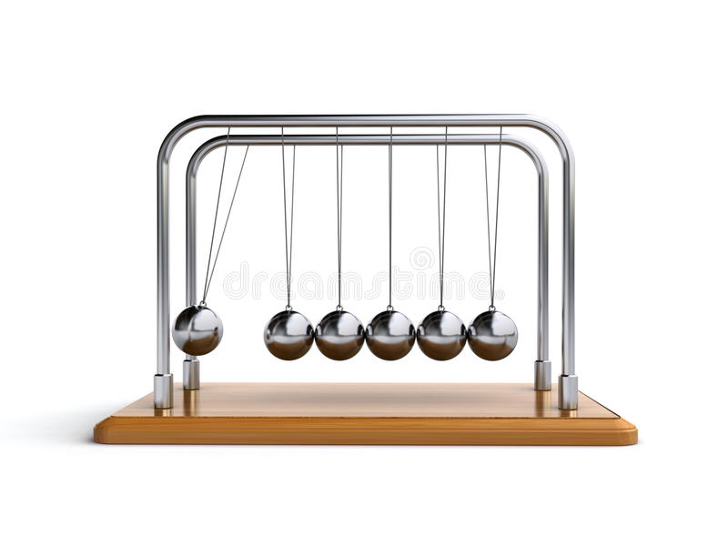 Newtonwiege vektor abbildung