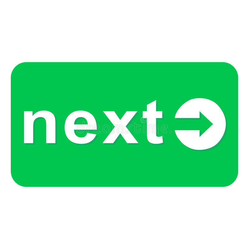 Download Next arrow button stock illustration. Image of next, continue - 6068858