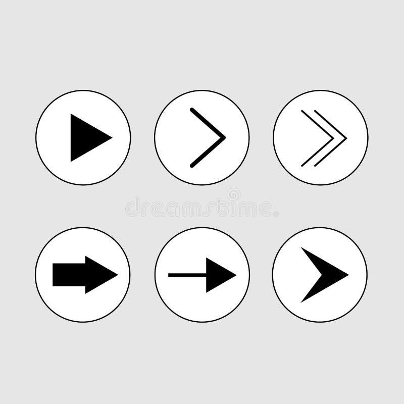 Next icon vector vector illustration