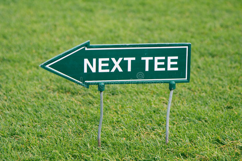 Download Next tee stock photo. Image of drive, fairway, finish - 9100276