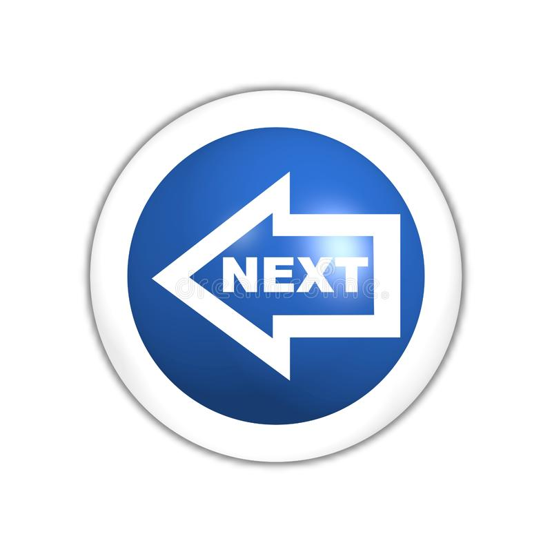 Download Next web button stock illustration. Illustration of button - 7887784