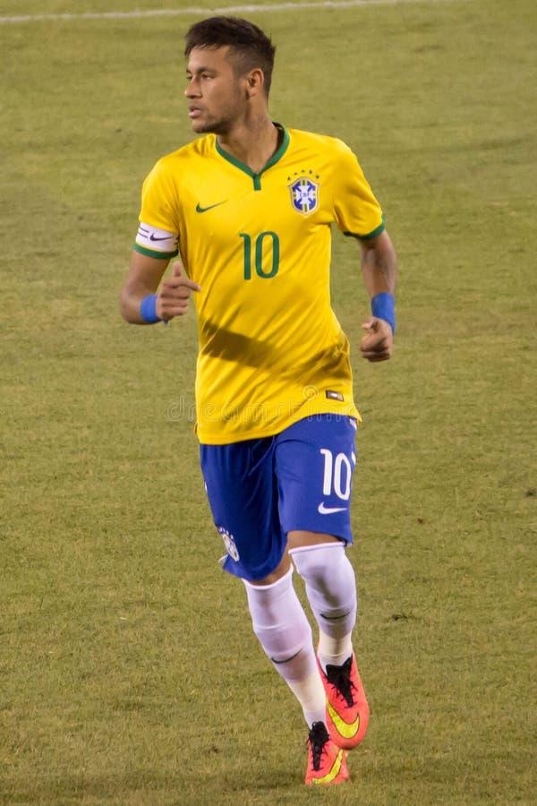 Neymar Brasile fotografie stock