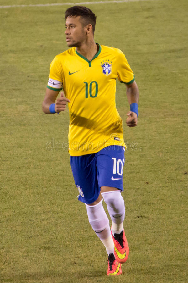 Neymar Brazil stock photos