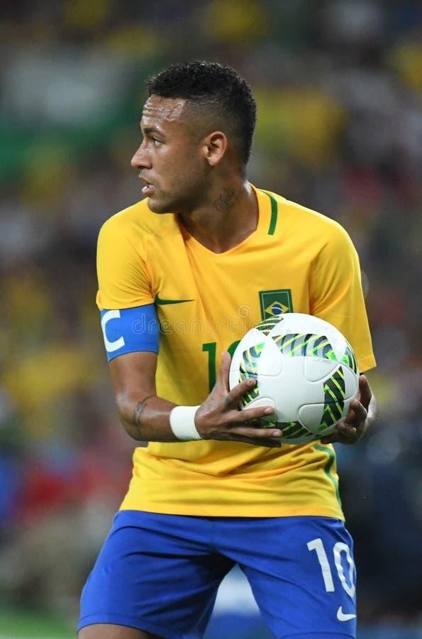 Neymar  Brazilian national football. Stock Photos of the Brazilian national football team Neymar stock image