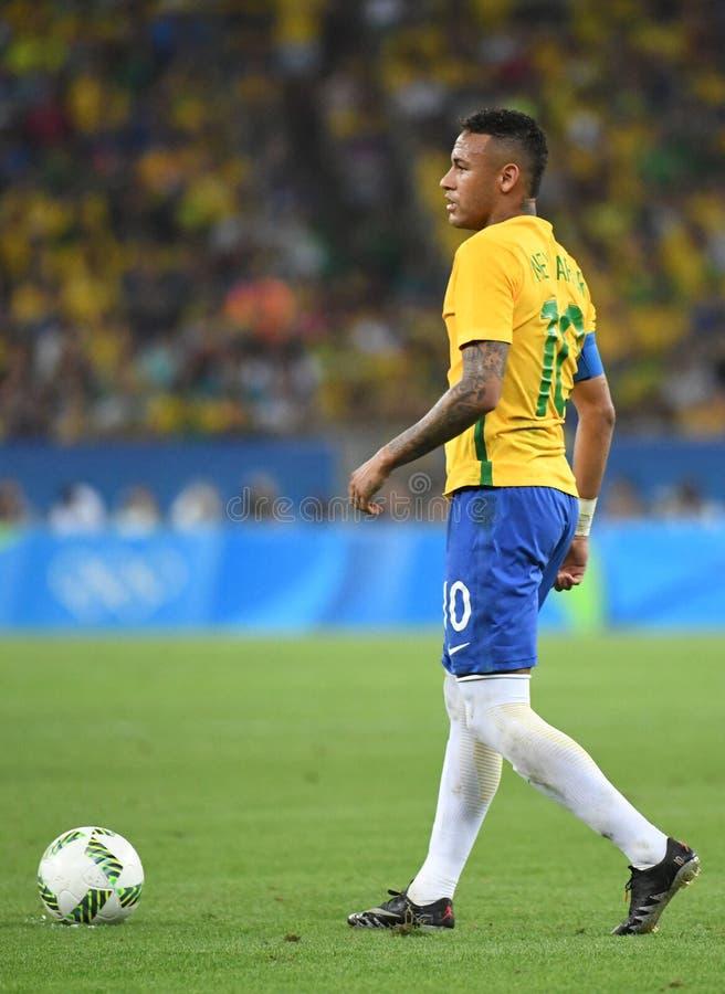 Neymar  Brazilian national football. Stock Photos of the Brazilian national football team Neymar royalty free stock image