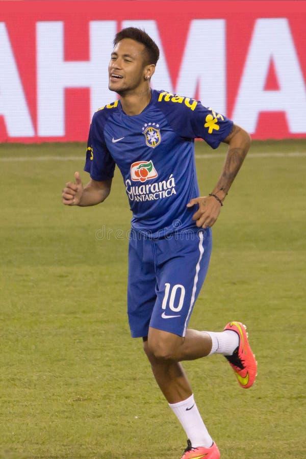 Neymar Brazylia zdjęcia royalty free