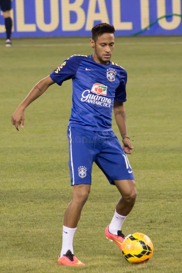 Neymar Dos Santos Jr royalty-vrije stock afbeelding