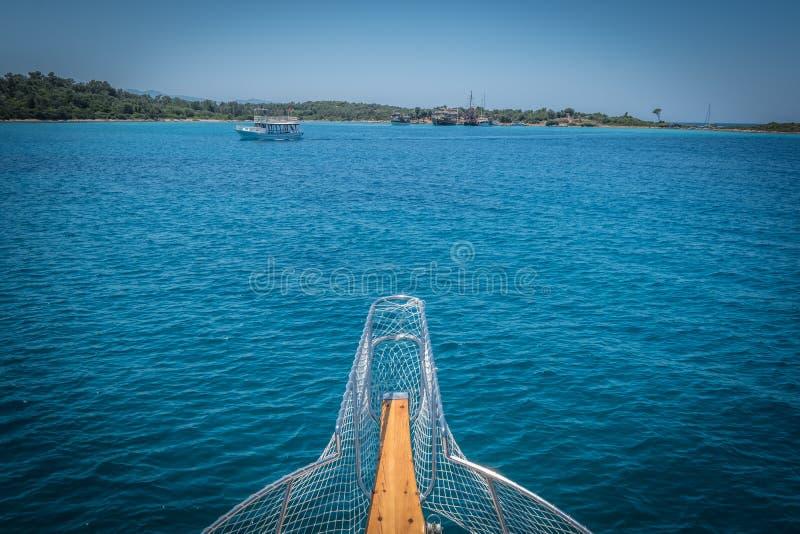 Nez de bateau photographie stock
