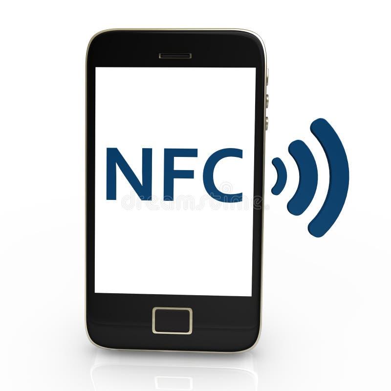 NFC ilustración del vector
