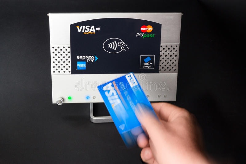 Download NFC - contactless payment editorial photography. Image of communications - 26049657
