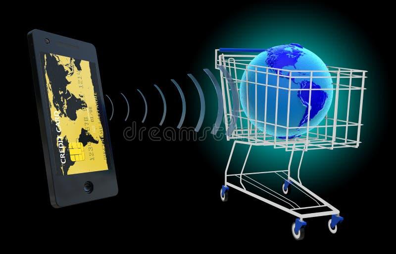 NFC - dichtbij gebiedsmededeling stock foto