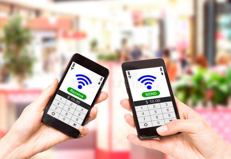 Download NFC - Near Field Communication Stock Image - Image: 31368327