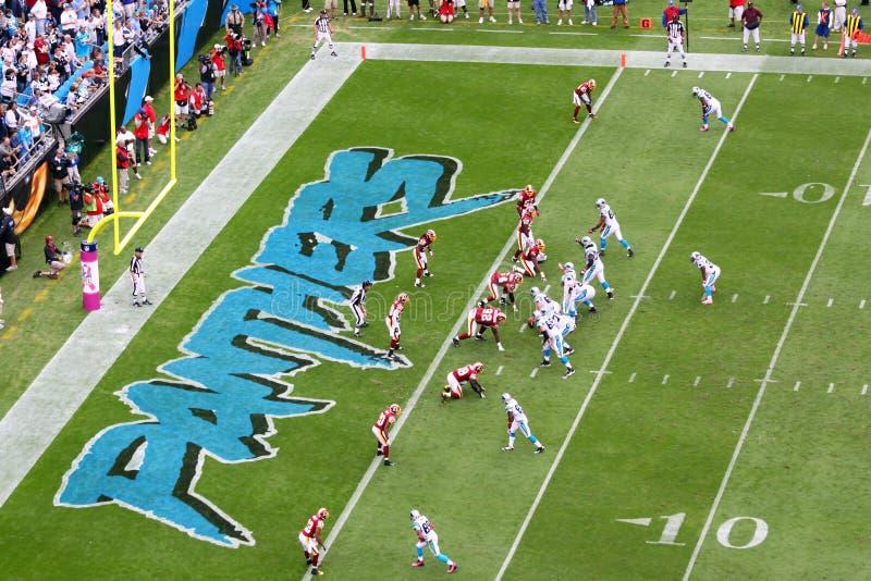 NFL - 3宽收货人集 免版税库存图片