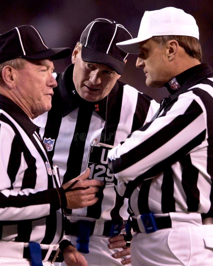 NFL arbitrzy zdjęcie royalty free