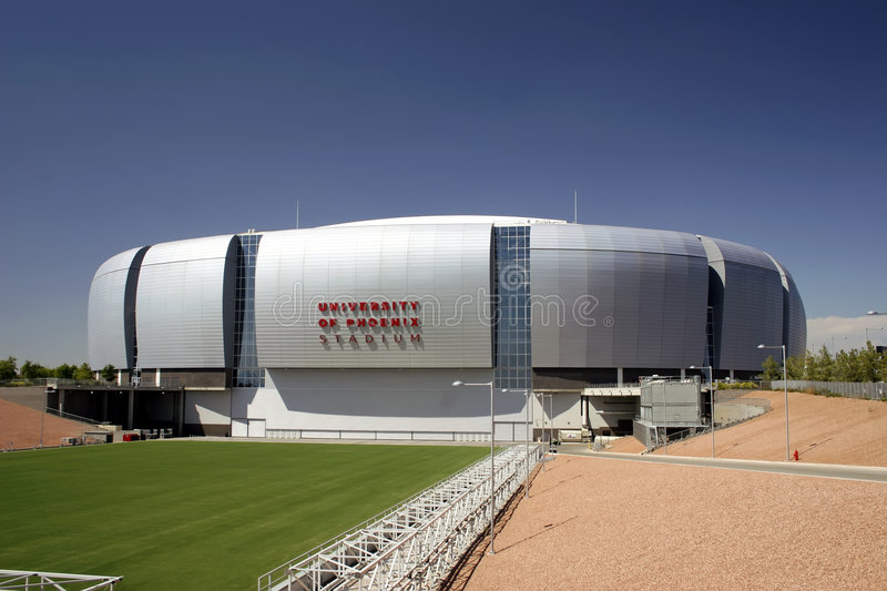 NFL Arizona Cardinals Football Stadium stock photo